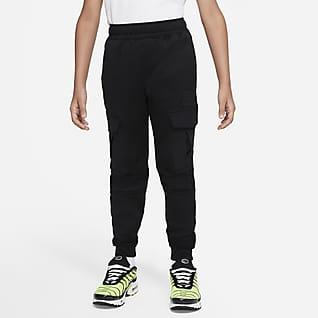 Nike Sportswear Air Max Флисовые джоггеры для мальчиков школьного возраста
