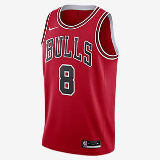 Zach LaVine Bulls Icon Edition2020 Maillot Nike NBA Swingman