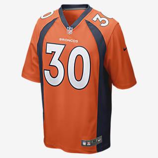 NFL Denver Broncos (Phillip Lindsay) Ανδρική φανέλα αμερικανικού ποδοσφαίρου