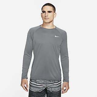 Nike Essential Men's Long-Sleeve Hydroguard Swim Shirt