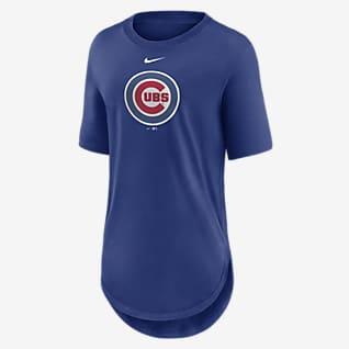 Nike Mascot Outline (MLB Chicago Cubs) Women's T-Shirt