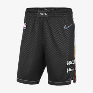 Brooklyn Nets City Edition 2020 Shorts Swingman Nike NBA - Uomo