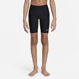 Nike HydraStrong Jammer-badebukser til større børn (drenge)