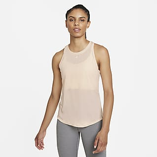 Nike Dri-FIT One Γυναικείο φανελάκι με κανονική εφαρμογή