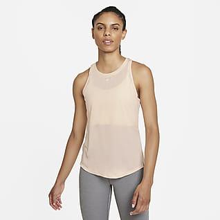 Nike Dri-FIT One Tanktop met standaardpasvorm voor dames