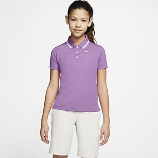 Nike Dri-FIT Victory Girls' Golf Polo