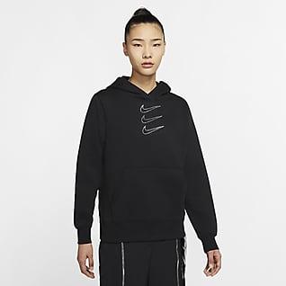 Nike Sportswear Rhinestone 女子连帽衫
