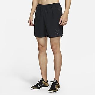 Nike Challenger Run Division กางเกงวิ่งขาสั้นมีซับในผู้ชาย
