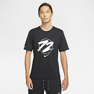 Nike Dri-FIT Miler Wild Run Men's Running Top