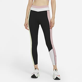 Nike One Color-Block 7/8 女子紧身裤