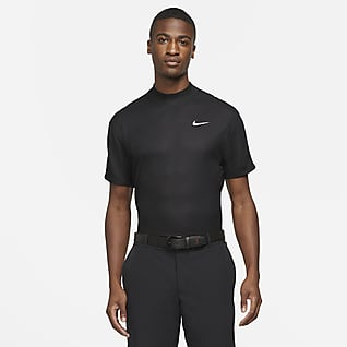 Nike Dri-FIT Tiger Woods Men's Short-Sleeve Mock-Neck Golf Top