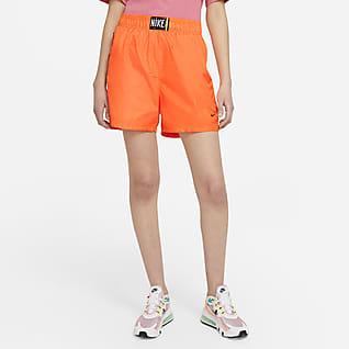 Nike Sportswear Damskie spodenki z tkaniny