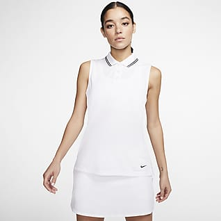 Nike Dri-FIT Victory Ujjatlan, galléros női golfpóló