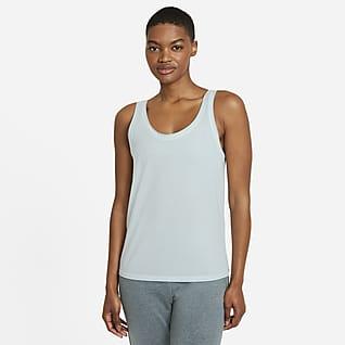 Nike Yoga Dri-FIT Singlet til dame