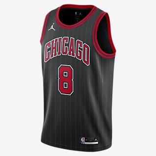 Zach LaVine Bulls Statement Edition 2020 Jordan NBA Swingman Jersey