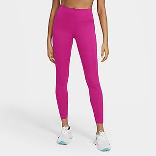 Nike One Luxe Tights med mellomhøyt liv til dame
