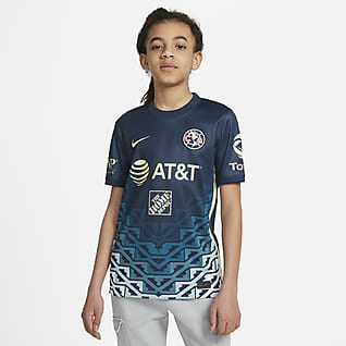 Club América visitante 2021/22 Stadium Jersey de fútbol para niños talla grande