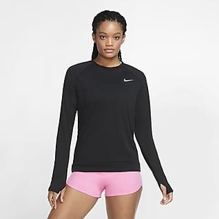 Nike Pacer Camiseta de cuello redondo de running para mujer