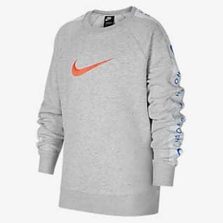 Nike Sportswear Swoosh 大童(男孩)圆领上衣