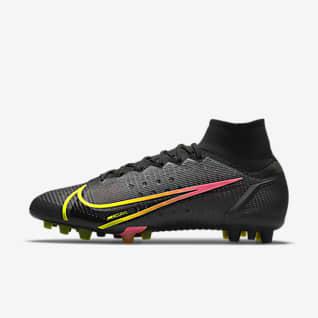 Nike Superfly 8 Elite AG 男/女人造草地足球鞋