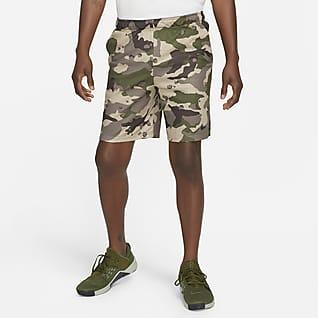 Nike Dri-FIT Camo-træningsshorts til mænd