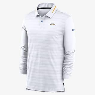 Nike Logo (NFL Chargers) Men's Long-Sleeve Polo