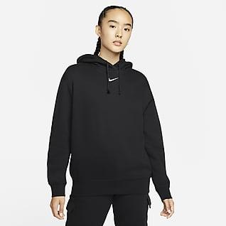 Nike Sportswear Collection Essentials 女子起绒连帽衫
