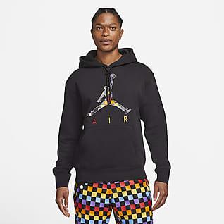 Jordan AJ3 Hoodie pullover de lã cardada com grafismo para homem