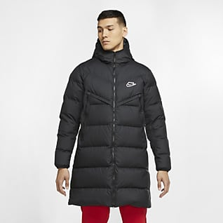 Nike Sportswear Down-Fill Windrunner Shield Erkek Parkası