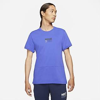 Nike Dri-FIT Prenda para la parte superior de entrenamiento con gráfico de manga corta para hombre