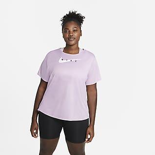Nike Swoosh Run Camisola de running para mulher (tamanhos Plus)