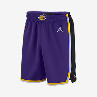 Lakers Statement Edition 2020 Jordan NBA Swingman Shorts für Herren