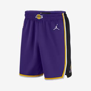 Lakers Statement Edition 2020 Shorts Jordan NBA Swingman för män