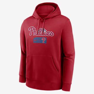 Nike Lettering Club (MLB Philadelphia Phillies) Men's Pullover Hoodie
