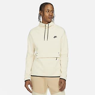 Nike Sportswear Tech Fleece Herentop met trechterhals en lange mouwen