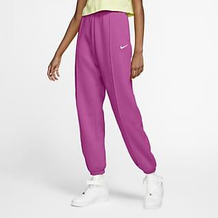 Nike Sportswear Essential กางเกงขายาวผ้าฟลีซผู้หญิง