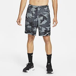 Nike Dri-FIT Treningsshorts med kamuflasjemønster til herre