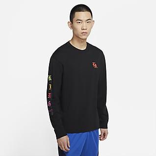 LeBron 男子长袖篮球T恤