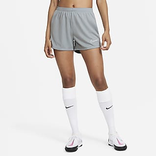 Nike Dri-FIT Academy Strick-Fußballshorts für Damen
