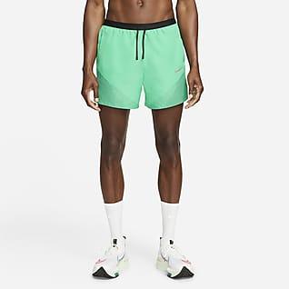 Nike Dri-FIT Run Division Flex Stride Hardloopshorts met binnenbroek voor heren (13 cm)