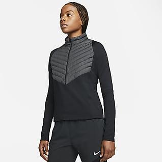 Nike Therma-FIT Run Division Γυναικείο υβριδικό τζάκετ για τρέξιμο