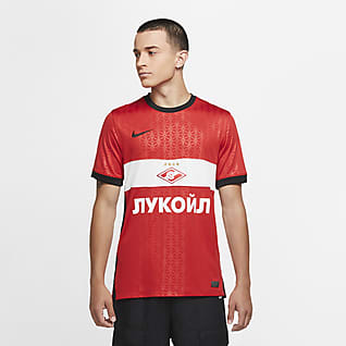 Spartak Moscow 2020/21 Stadium Home Herren-Fußballtrikot