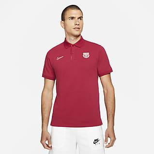 The Nike Polo F.C. Barcelona Men's Slim-Fit Polo