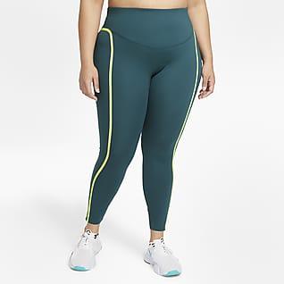 Nike One Luxe Icon Clash Leggings para mujer (talla grande)
