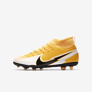 Nike Jr. Mercurial Superfly 7 Club MG Chuteiras de futebol multiterreno para criança/Júnior