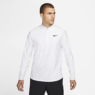 NikeCourt Dri-FIT Advantage Men's 1/2-Zip Tennis Top