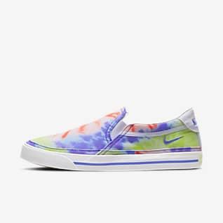 Nike Court Legacy Print Women's Slip-On