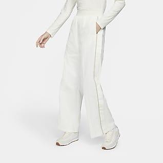 Nike Sportswear Icon Clash Pantalón de pernera ancha de tejido Woven - Mujer