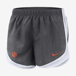 Nike College Tempo (Clemson) Shorts de running para mujer