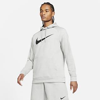 Nike Dri-FIT Treningshettegenser til herre